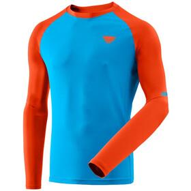Dynafit Alpine Pro Langærmet T-shirt Herrer, orange/turkis